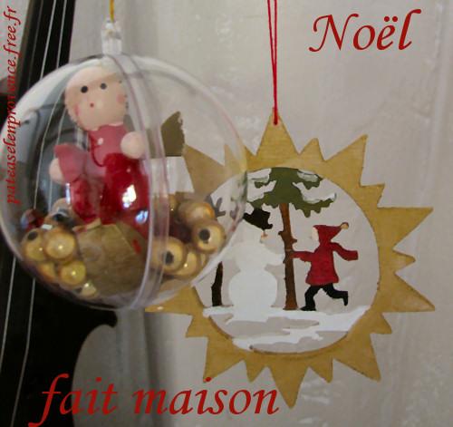 Idee deco idees deco de noel fait main 1000 id es sur - Decoration de noel fait main ...